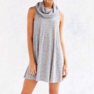 UO BDG Grey Cowl Neck Sweater Dress!